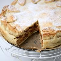 Wegańska szarlotka amerykańska. Apple pie