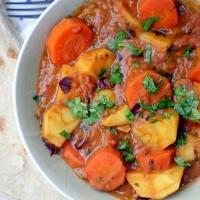 Afrykańskie curry z polskich warzyw