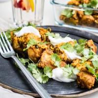 Bombay potato, czyli młode ziemniaki po indyjsku